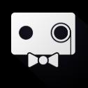 迷人的机器人徽标